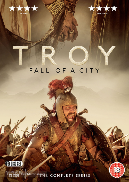 """""""Troy: Fall of a City"""" - British Movie Cover"""