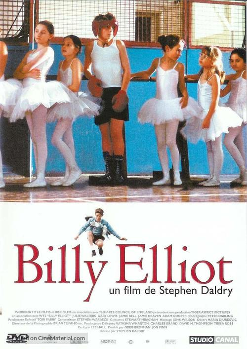 Billy Elliot - French DVD movie cover