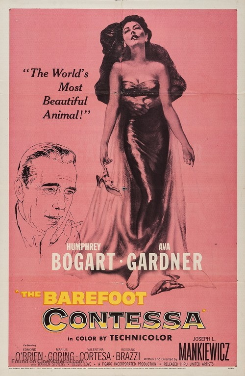 The Barefoot Contessa - Movie Poster