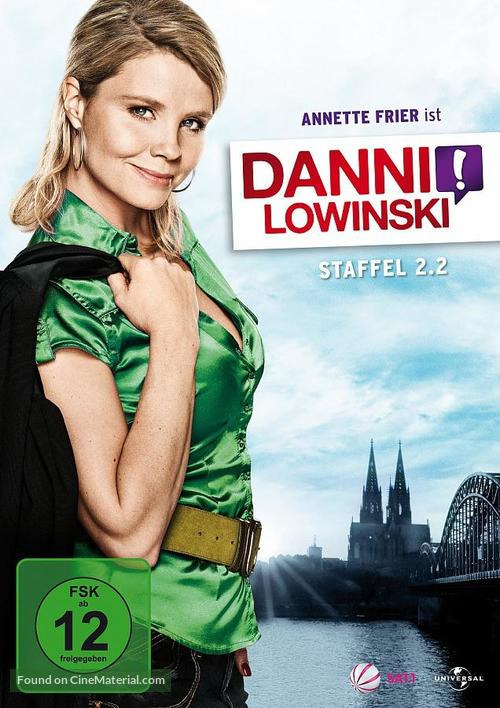 """Danni Lowinski"" - German DVD movie cover"