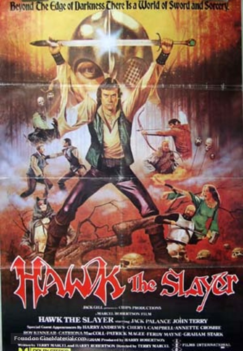 Hawk the Slayer - Movie Poster