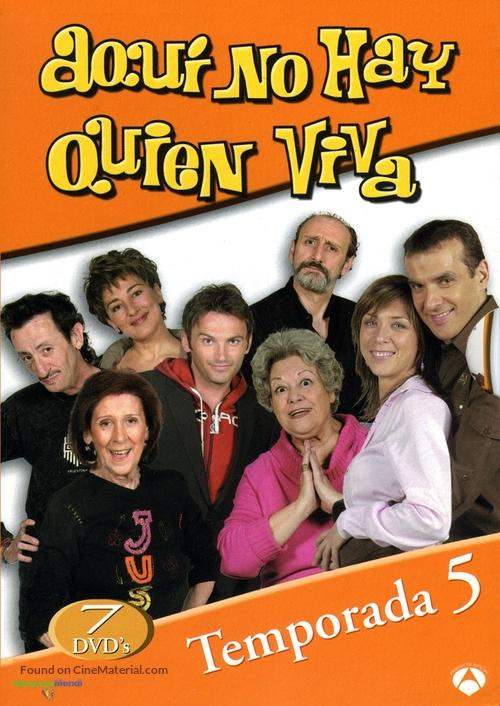 """""""Aquí no hay quien viva"""" - Spanish Movie Cover"""