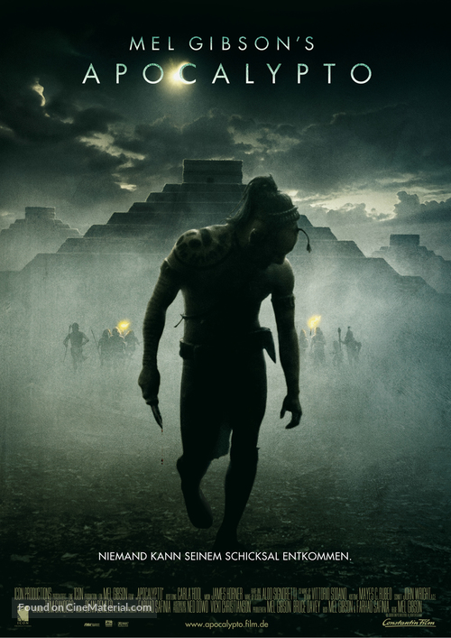 Apocalypto - German Movie Poster