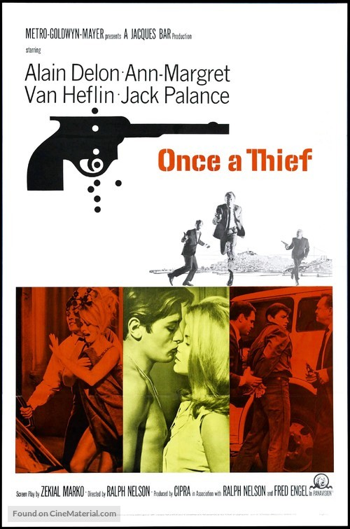 Once a Thief - Movie Poster