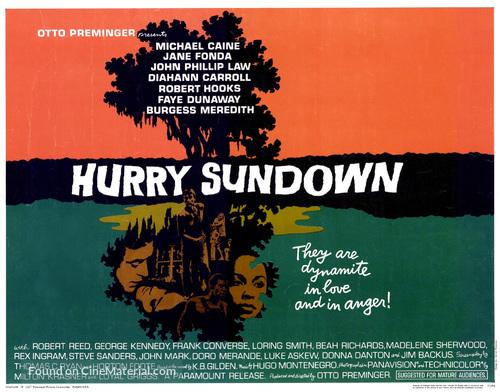 Hurry Sundown - Movie Poster