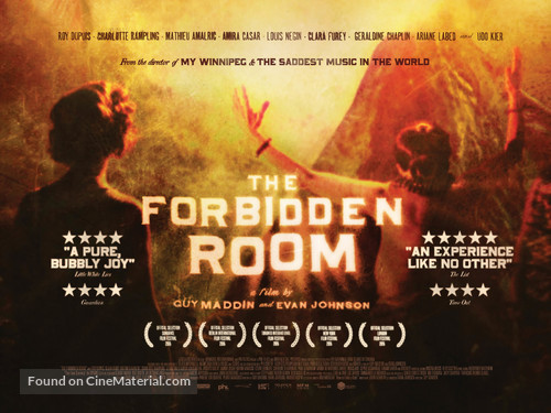The Forbidden Room - British Movie Poster