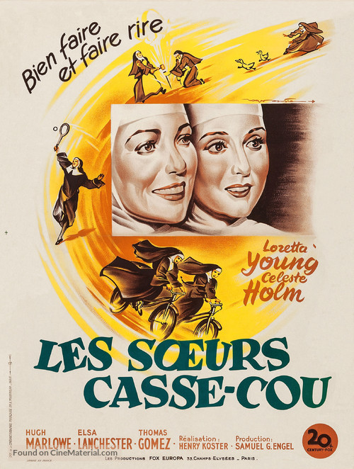Come to the Stable - French Movie Poster
