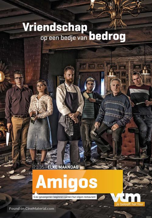 """Amigo's"" - Belgian Movie Poster"