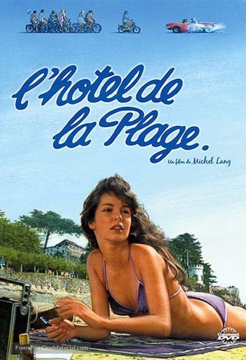 L'hôtel de la plage - French DVD movie cover