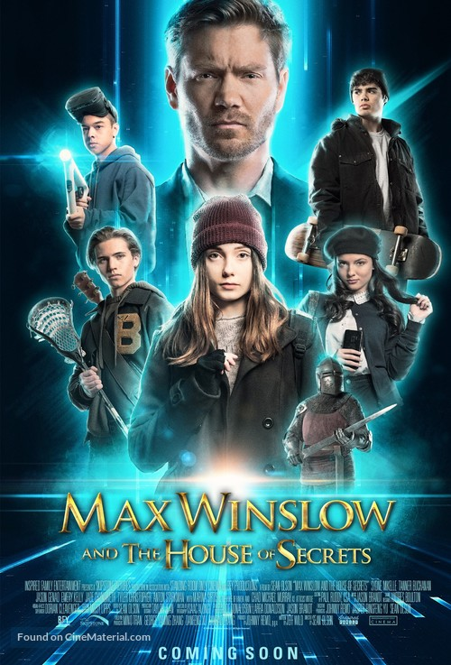 Max Winslow and the House of Secrets - Movie Poster