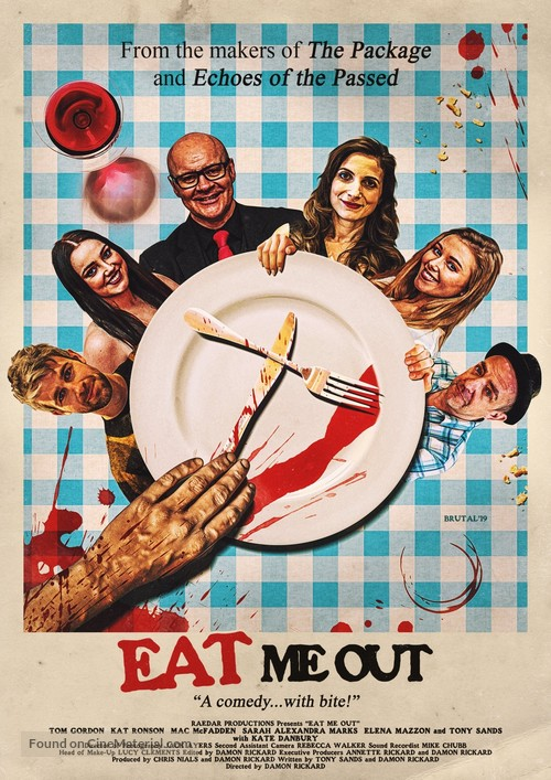 Eat Me Out (Of House and Home) - British Movie Poster