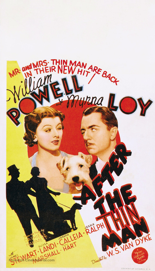 After the Thin Man - Theatrical movie poster