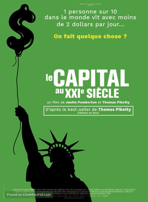 Capital in the Twenty-First Century - French Movie Poster