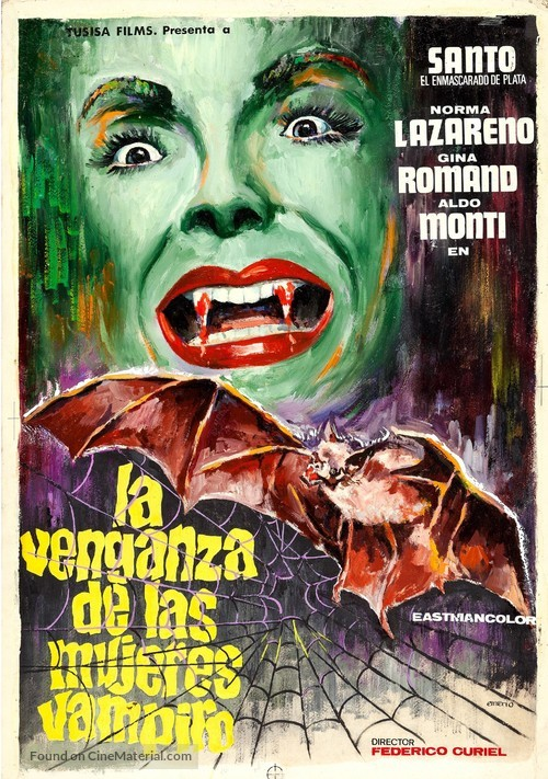 La venganza de las mujeres vampiro - Spanish Movie Poster