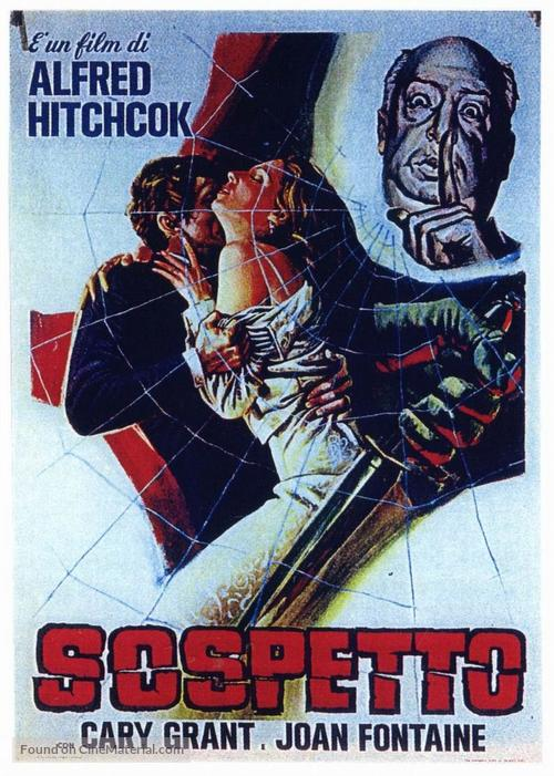 Suspicion - Italian Movie Poster