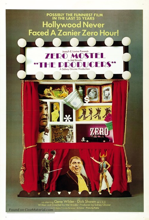 The Producers - Movie Poster