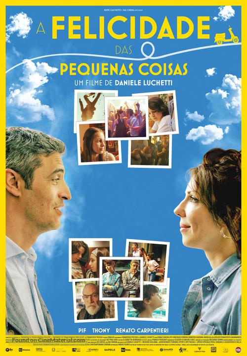 Momenti di trascurabile felicità - Portuguese Movie Poster