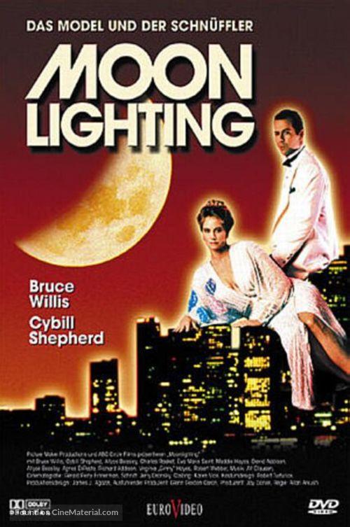 """""""Moonlighting"""" - German DVD movie cover"""