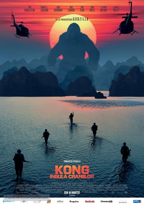 Kong: Skull Island - Romanian Movie Poster