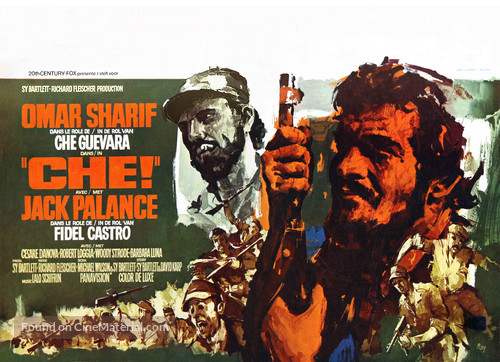 Che! - Belgian Movie Poster