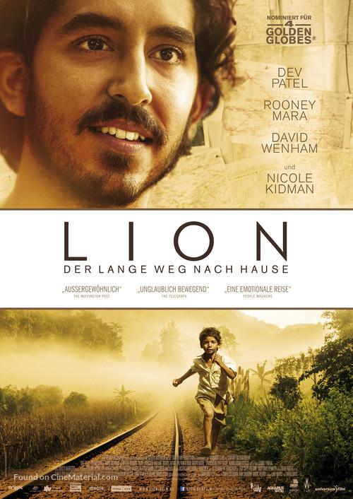 Lion - German Movie Poster