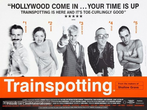 Trainspotting - British Movie Poster