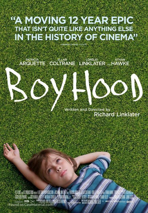 Boyhood - Belgian Movie Poster