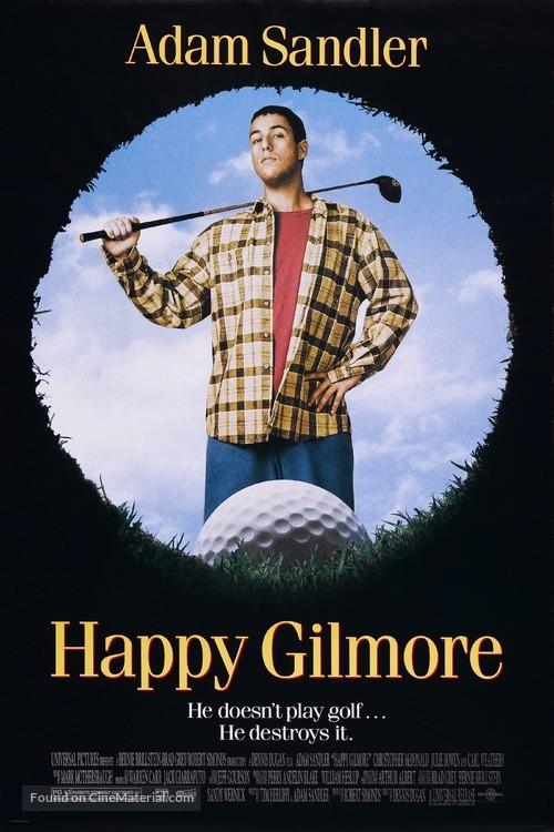 Happy Gilmore - Movie Poster