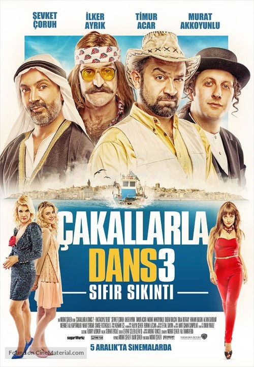 Çakallarla Dans 3: Sifir Sikinti - Turkish Movie Poster