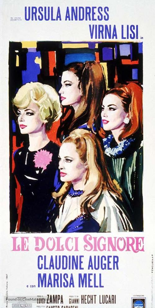 Le dolci signore - Italian Movie Poster