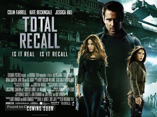 Total Recall - British Movie Poster