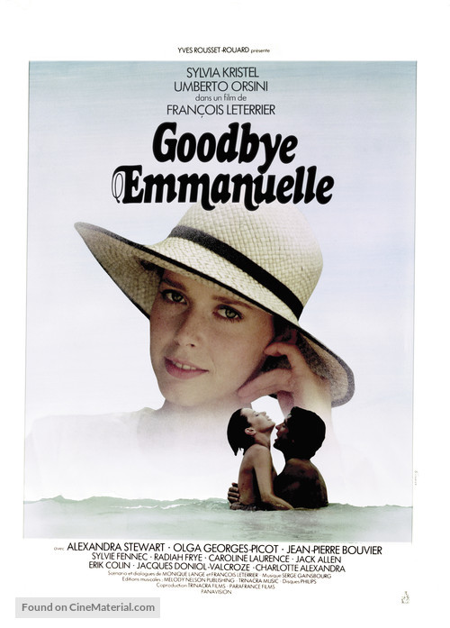 Good-bye, Emmanuelle - French Movie Poster