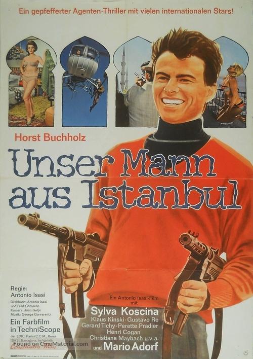 Estambul 65 - German Movie Poster