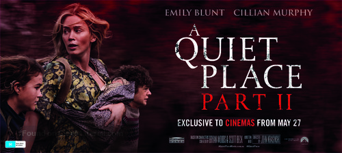 A Quiet Place: Part II - Australian Movie Poster