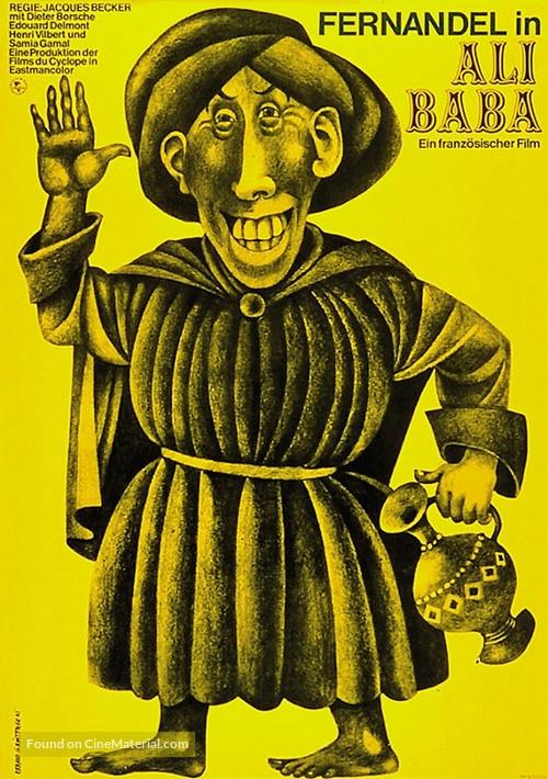 Ali Baba et les quarante voleurs - German Movie Poster