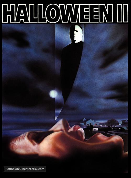 Halloween II - DVD movie cover