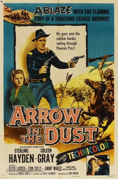 Arrow in the Dust - Movie Poster