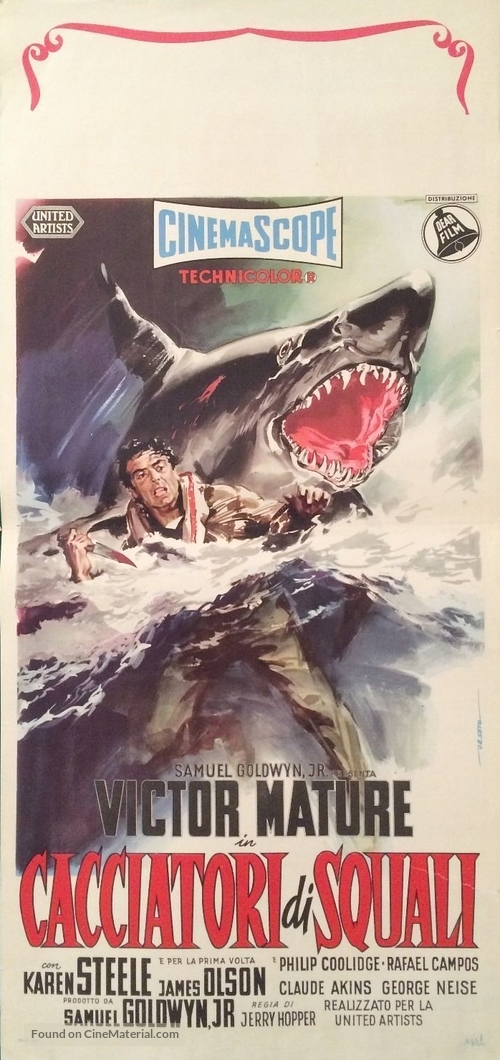 The Sharkfighters - Italian Movie Poster