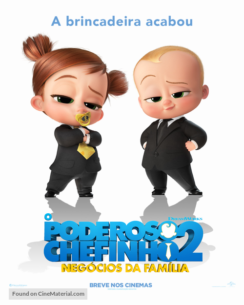 The Boss Baby: Family Business - Brazilian Movie Poster