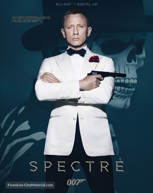 Spectre - Blu-Ray cover