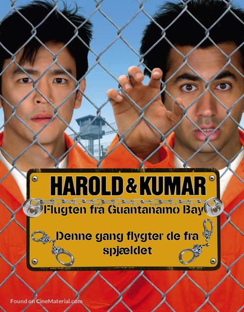Harold & Kumar Escape from Guantanamo Bay - Danish poster