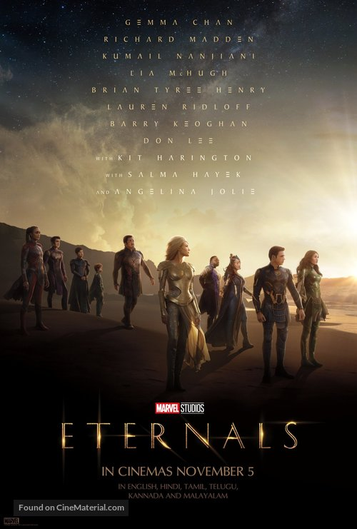 The Eternals - Indian Movie Poster