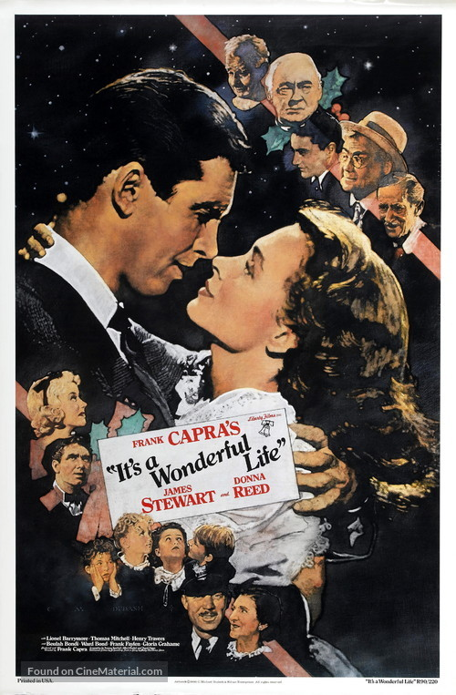 It's a Wonderful Life - Re-release movie poster
