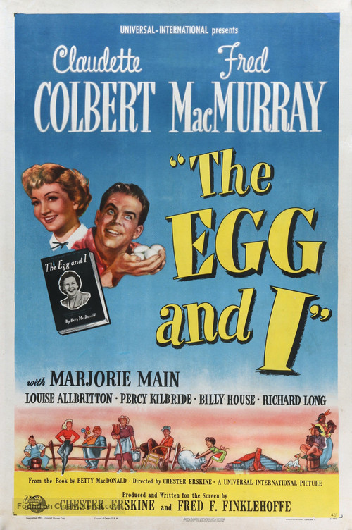 The Egg and I - Movie Poster