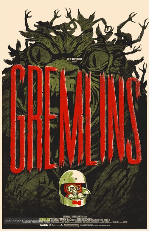 Gremlins - Canadian Homage movie poster