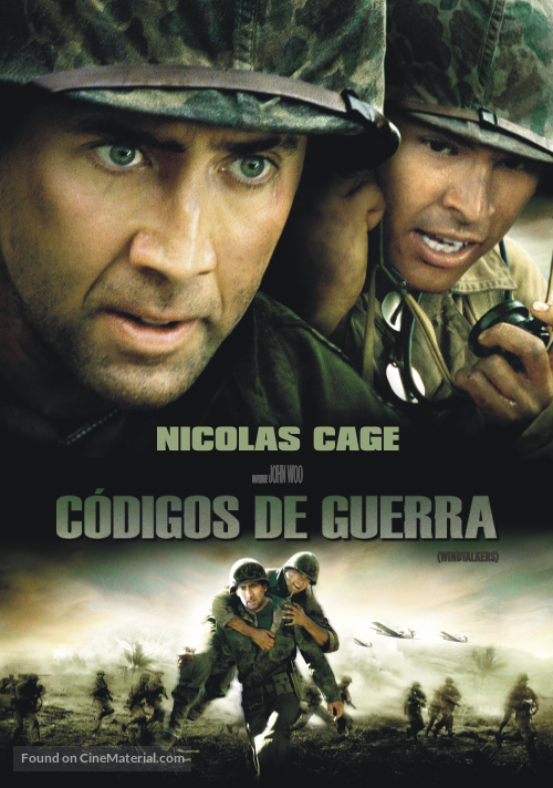 Windtalkers - Argentinian DVD movie cover