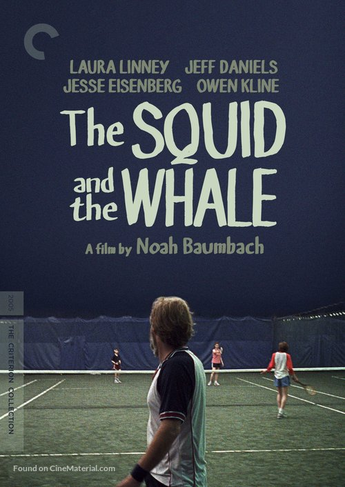 The Squid and the Whale - DVD movie cover