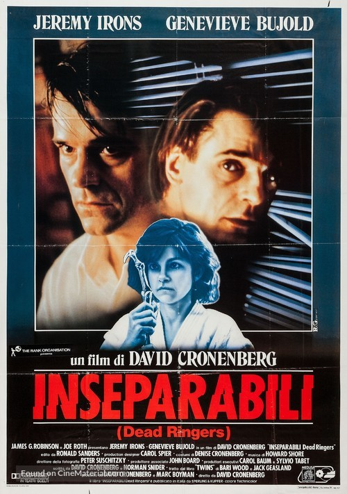 Dead Ringers - Italian Movie Poster