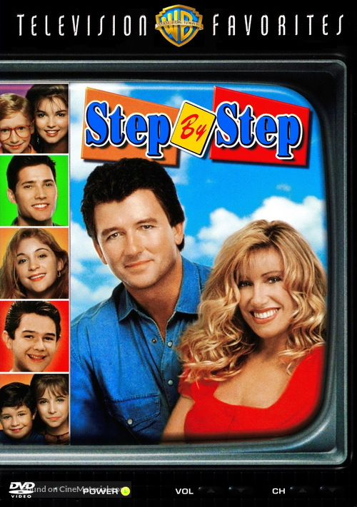 """Step by Step"" - DVD movie cover"