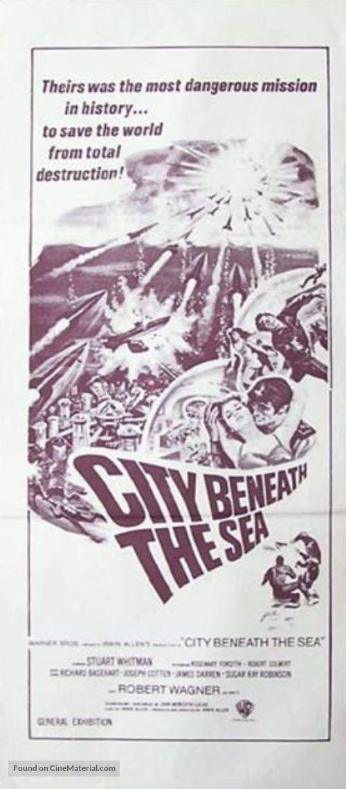 City Beneath the Sea - Australian Movie Poster